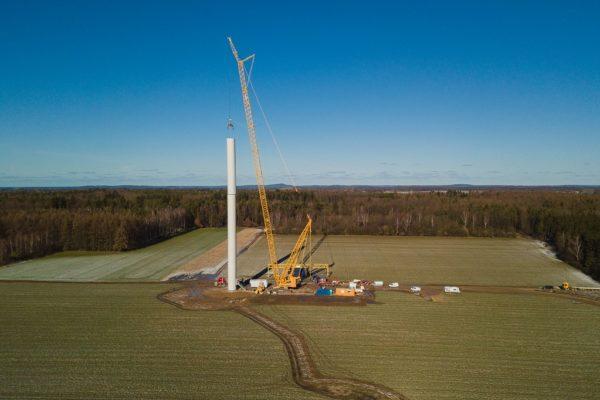 Turbina wiatrowa Potęgowo
